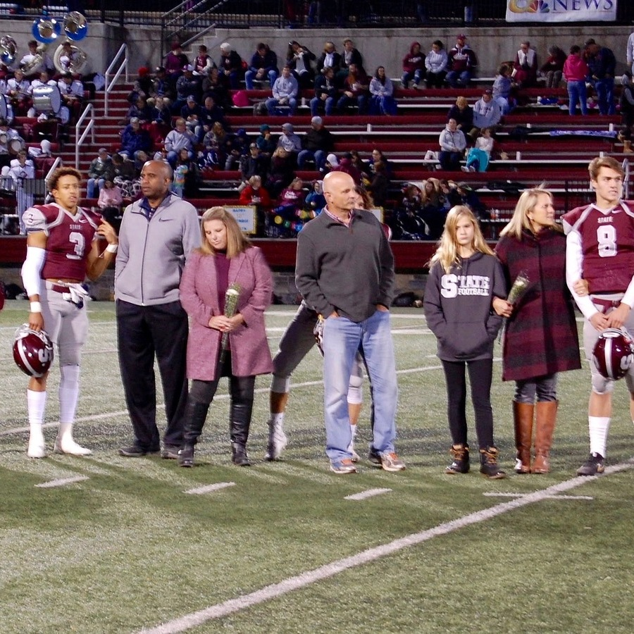 On Senior Night, State College Offense Overwhelms Old Rival Altoona