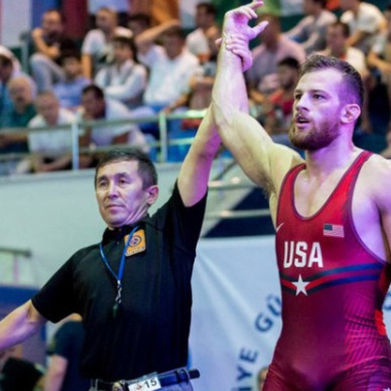 David Taylor Wins First UWW World Title