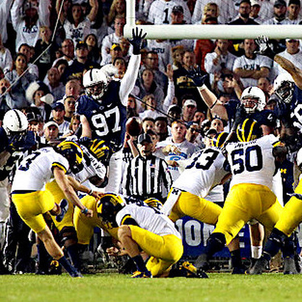 Since '16 Loss at Michigan, Only Penn State & Oklahoma are Without a Double-Digit Defeat