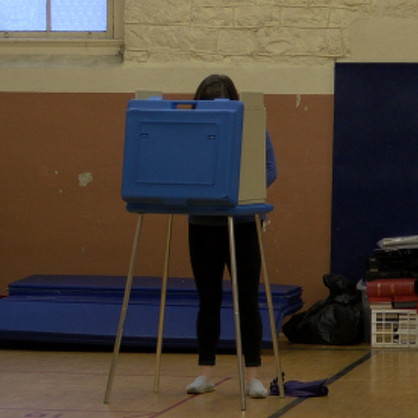 Local Polling Places Busy from the Start