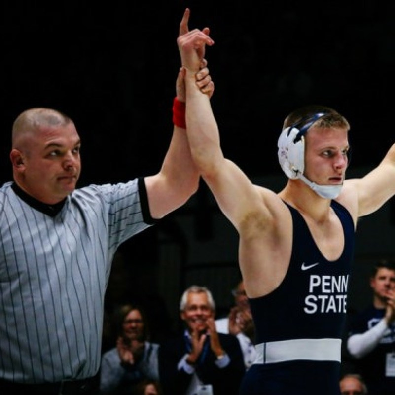 Penn State Wrestling Pins Seven, Beats Kent State 52-3