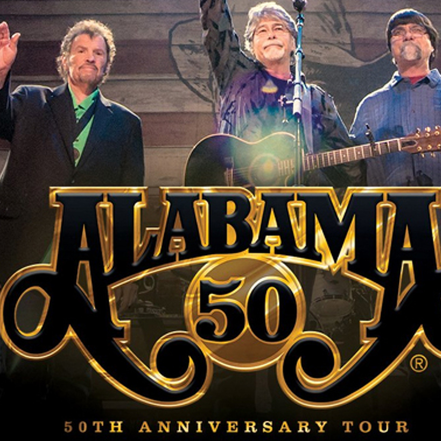 Alabama Bringing 50th Anniversary Tour to Bryce Jordan Center