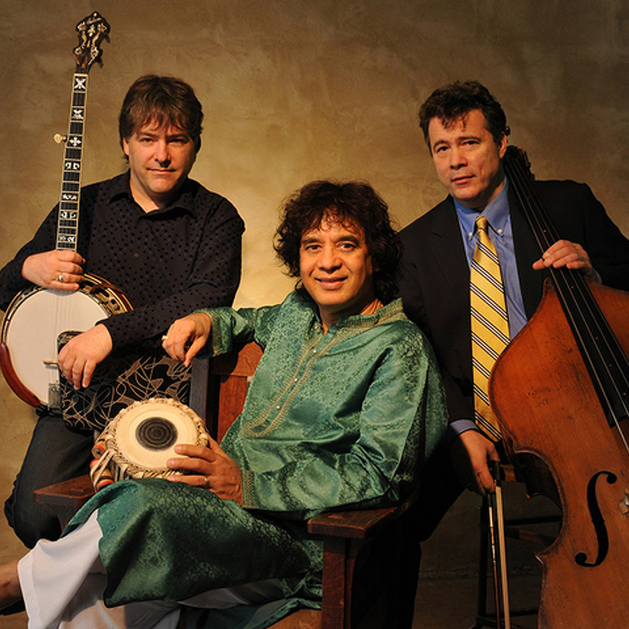Béla Fleck Will Make 8th Eisenhower Appearance, This Time with Hussain, Meyer and Chaurasia