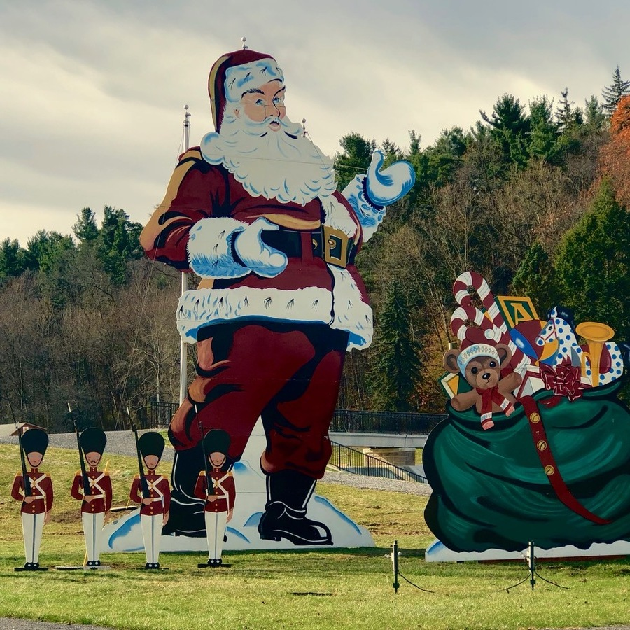 Iconic Wooden Santa Is a Beloved Philipsburg Tradition
