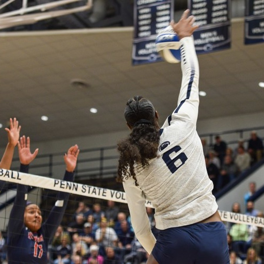 Penn State Women's Volleyball Sweeps Howard to Advance