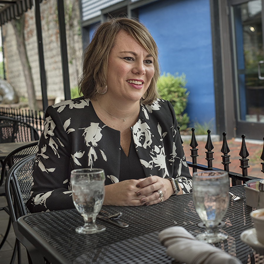 Lunch with Mimi: Anne Campbell of Juniper Village at Brookline