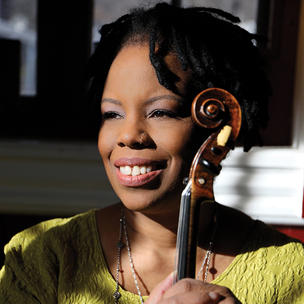On Center: Regina Carter and bandmates will honor Ella Fitzgerald at Schwab