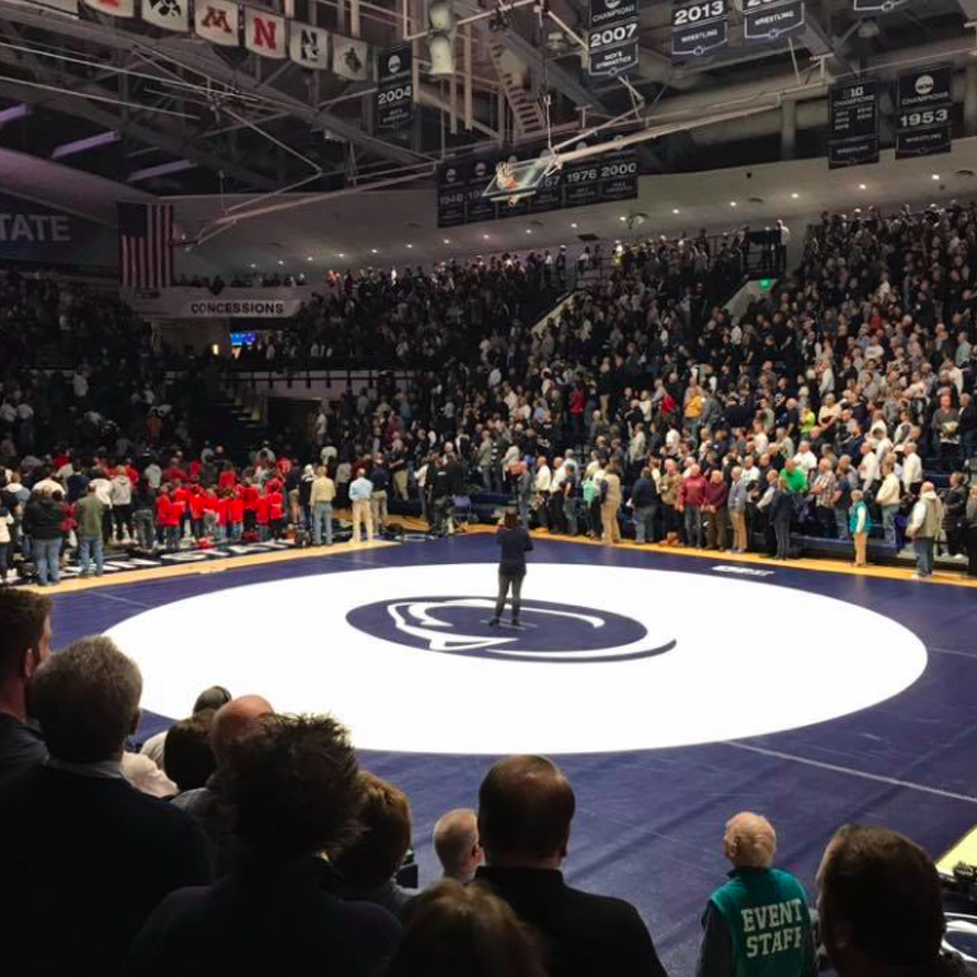 So I Went To My First Penn State Wrestling Dual, Meet Or Is It Match?