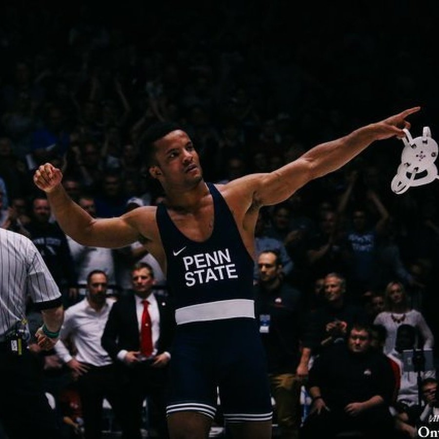 Penn State Wrestling Clobbers Arizona State, Hall Knocks Off Top-Ranked Valencia