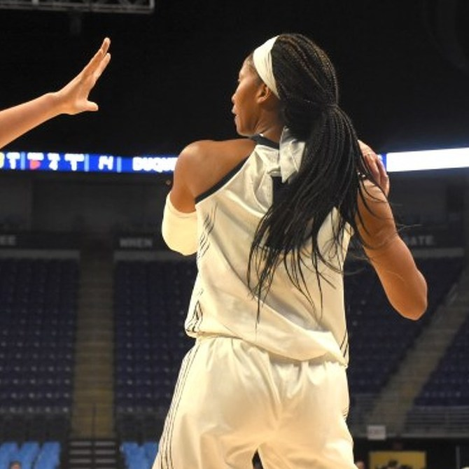 Lady Lions Take Down Wisconsin for First Big Ten Win