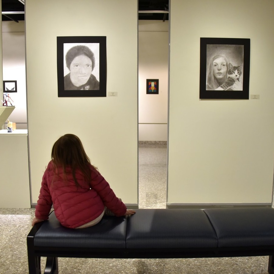 K-12 Art Show at Penn State Showcases SCASD Student Works