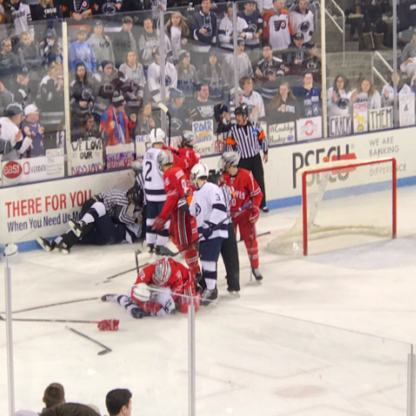 Penn State Hockey: Nittany Lions Fall 6-4 In Wild Game Against No. 4 Ohio State