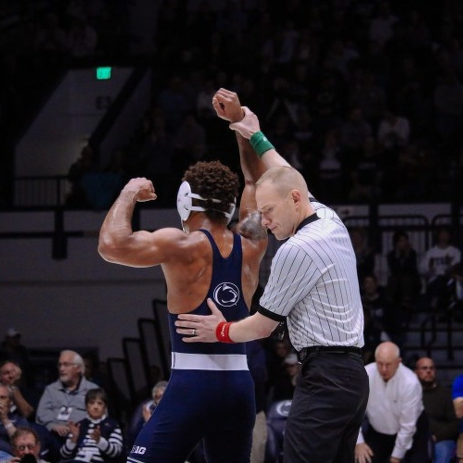 Penn State Wrestling Wins Last 5 Bouts to Blow Out Indiana