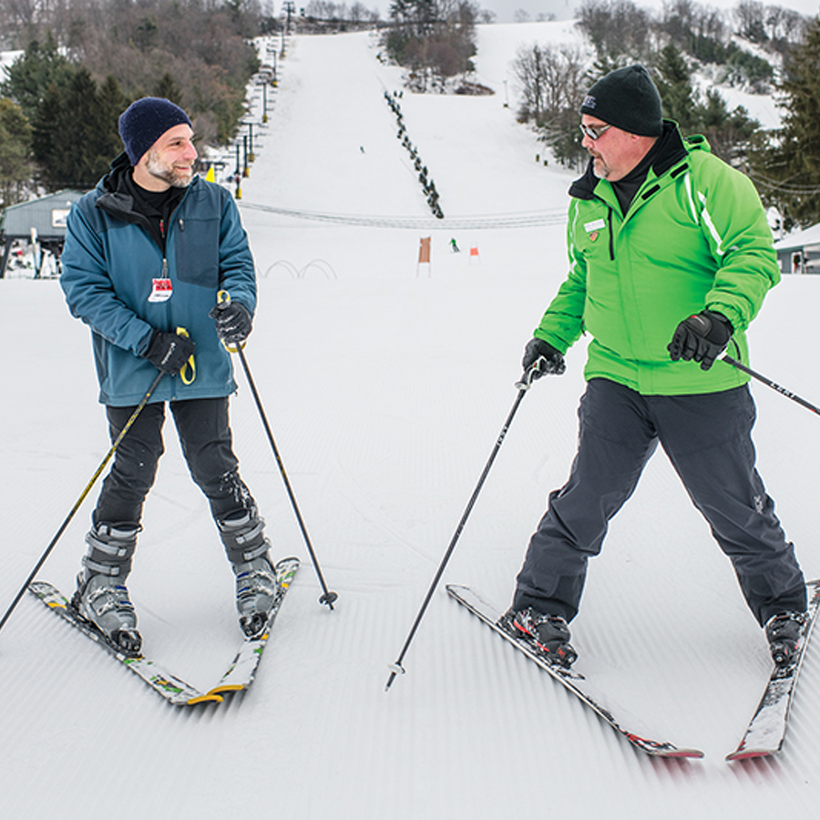 Help Me! I Want to Learn How to Ski