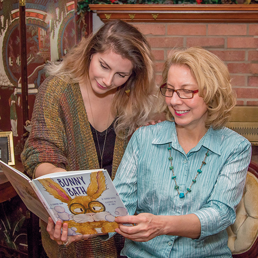 Magical Journey: Mother and daughter turn a hobby and a childhood whimsy into a bestselling children's book