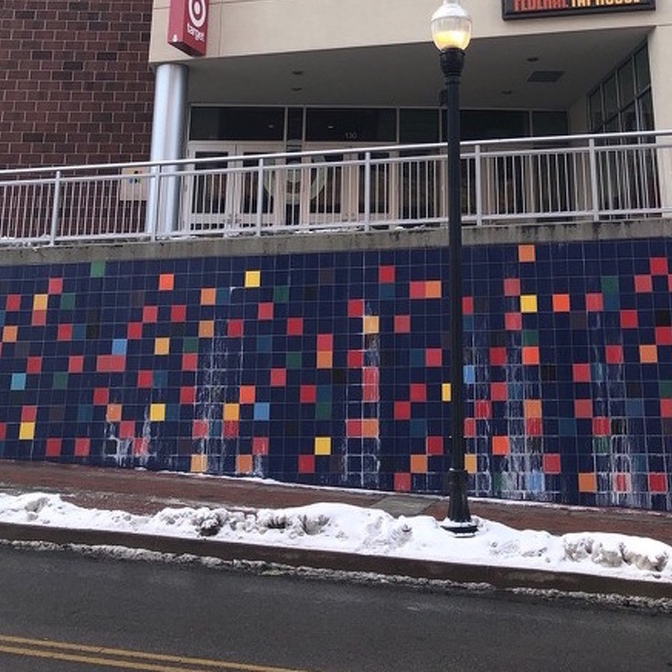 Fraser Street Wall Contains Subtle Tribute