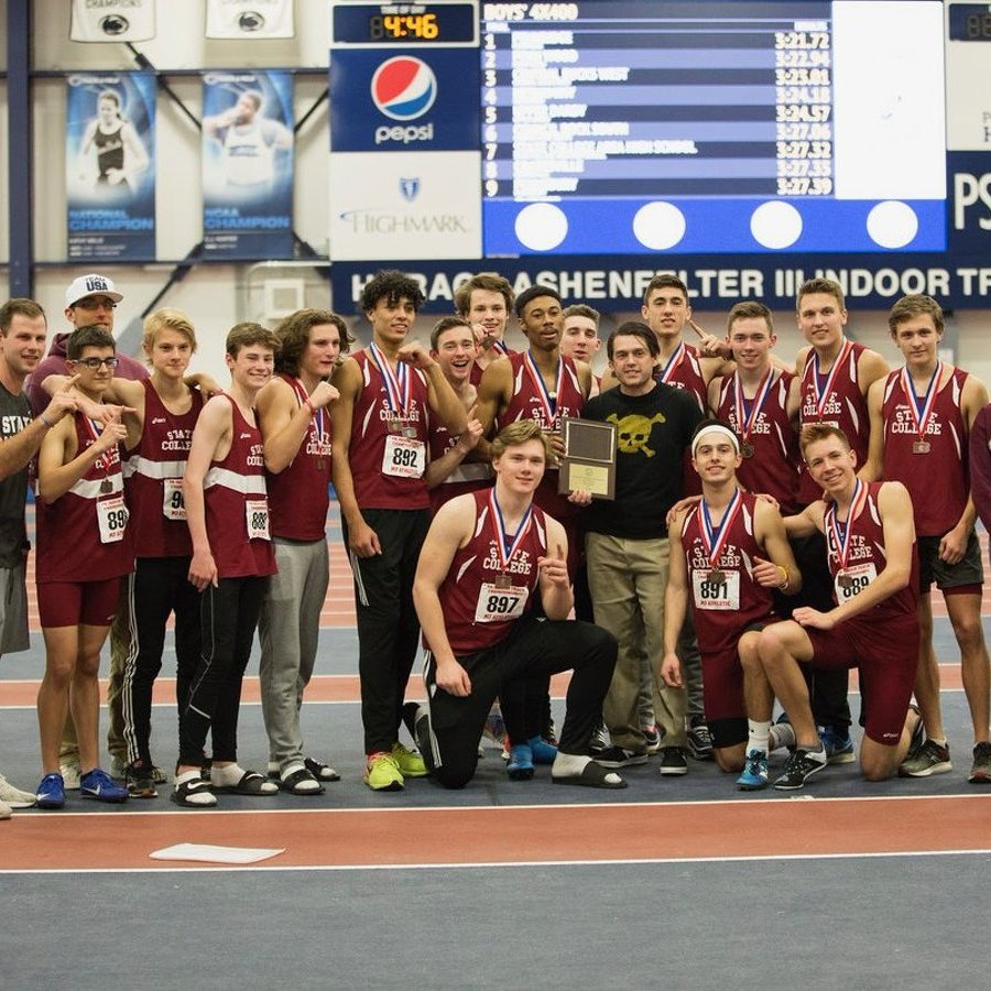 State High Boys Claim Team Title at State Indoor Track Championship
