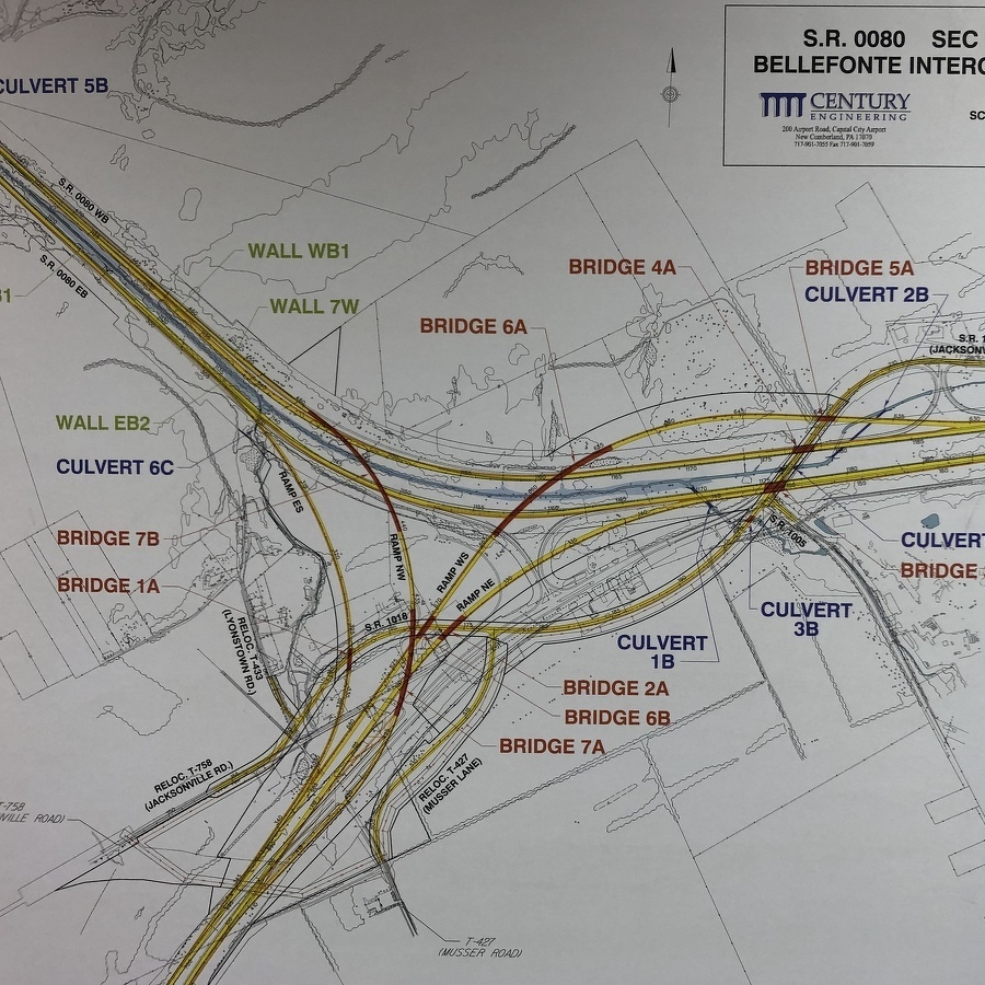 PennDOT Details New Local Access Tied to I-80/I-99 Interchange Project