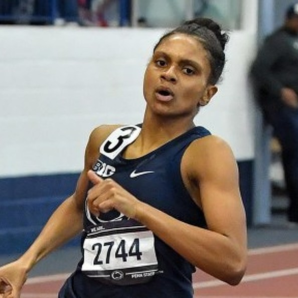 Penn State's Danae Rivers Wins Historic NCAA Indoor Track & Field Title