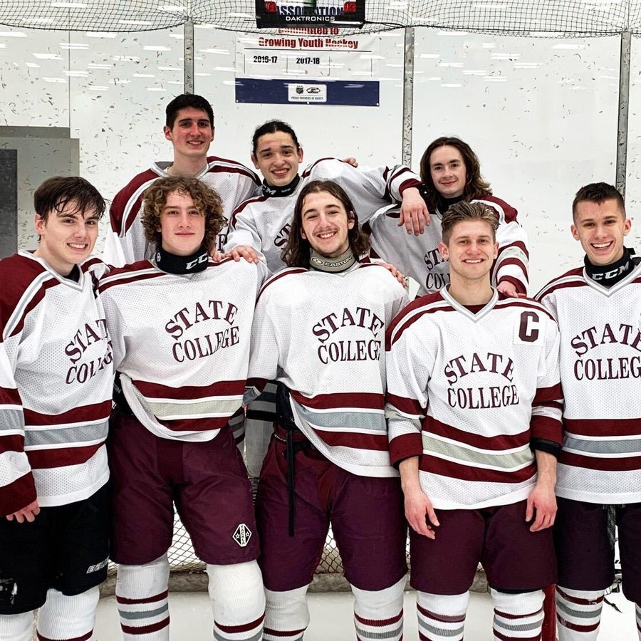 State College Hockey Hosts Central Cambria for Laurel Mountain Championship