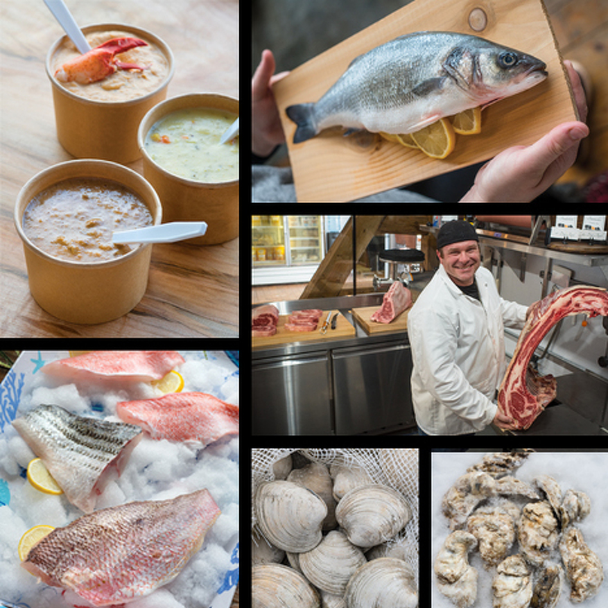 Newly Renovated Maine Bay & Berry Café Features Its Well-Known Fresh Seafood – and Much More