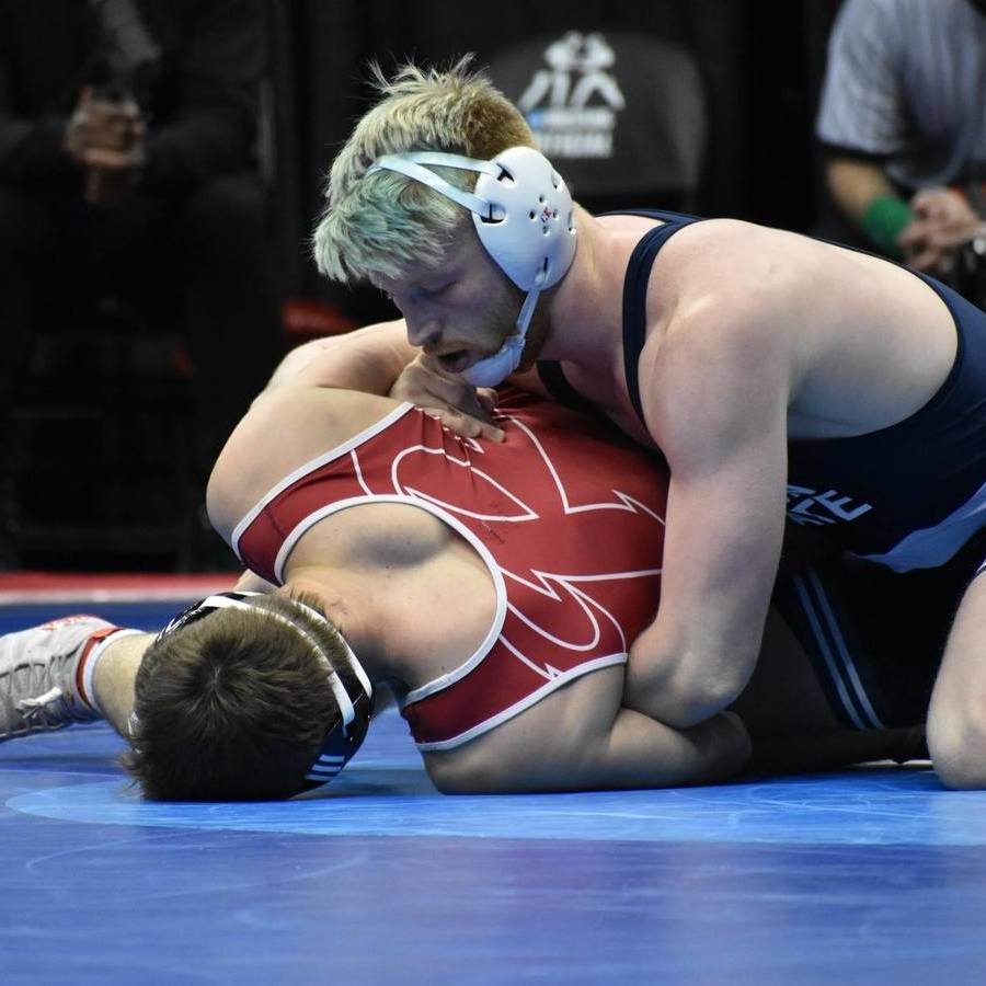 Penn State Wrestling Jumps Out to Team Lead at NCAA Championships with 9-0 First Round