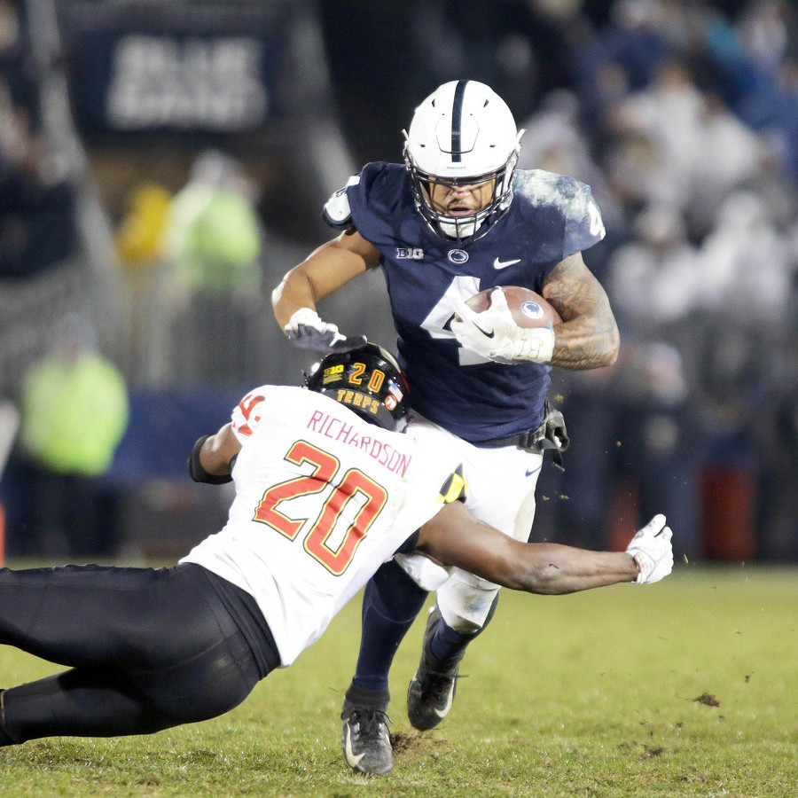 Penn State's Full House: Five Running Backs, One Ball