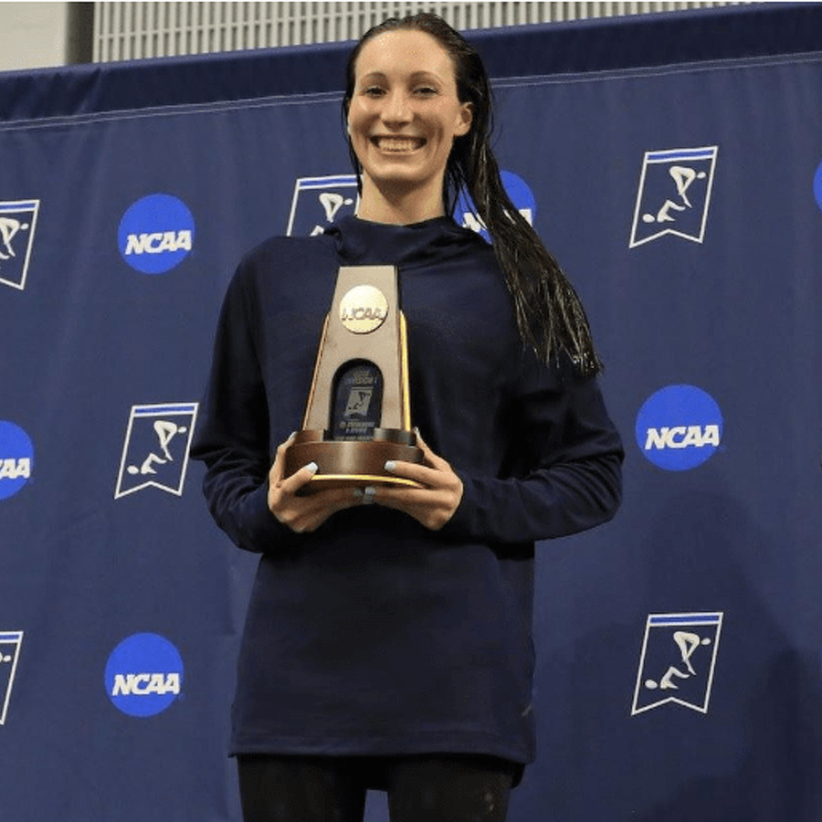 Ally McHugh Swims to Penn State's First Women's NCAA Title