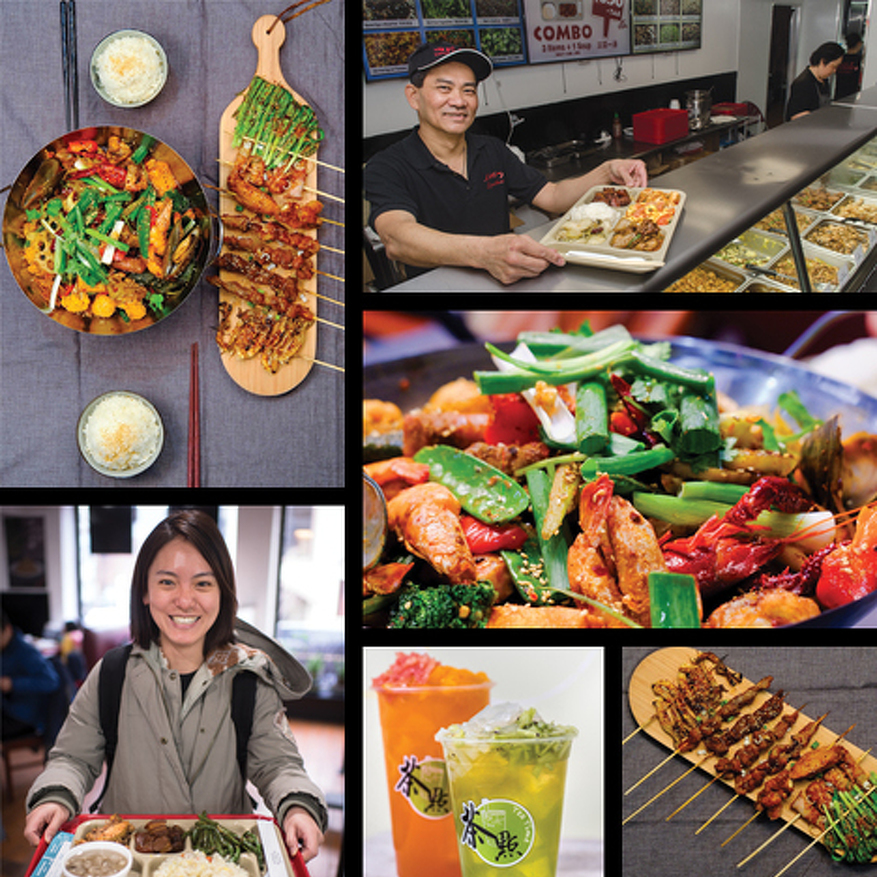 Taste of the Month: Little Food Court Offers Variety of Chinese Specialties – and Don't Forget to Try the Bubble Tea