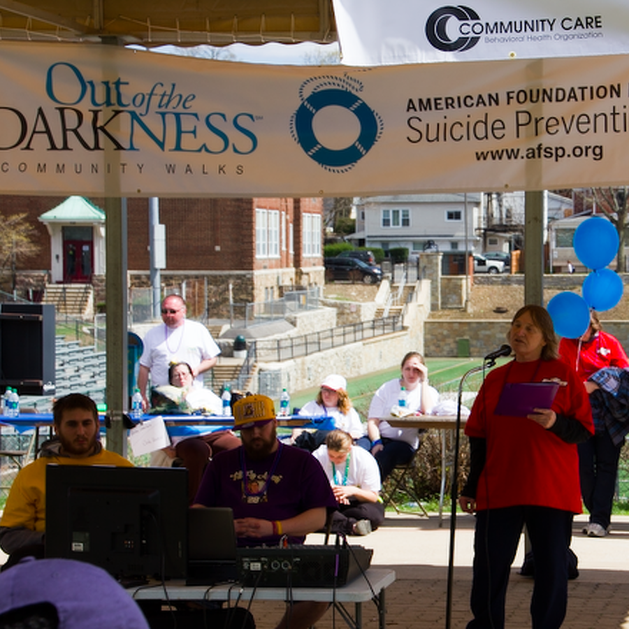 Walk to Raise Awareness and Funds for Suicide Prevention
