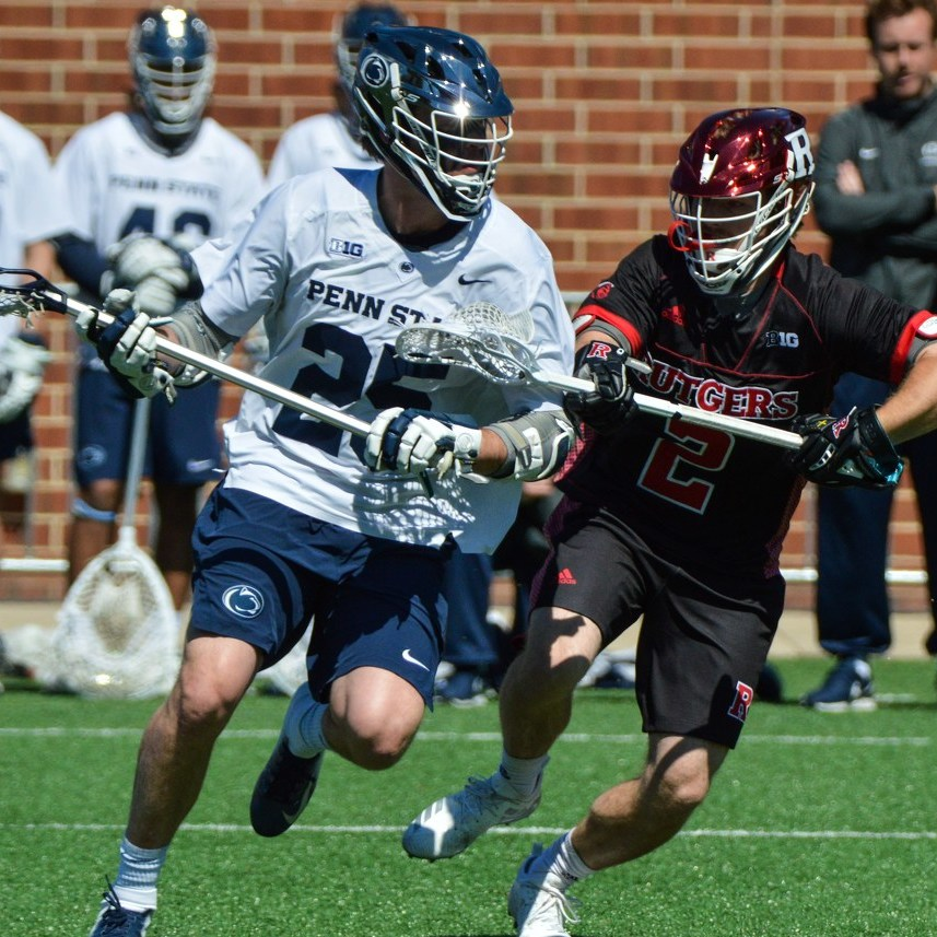 Penn State Men's Lacrosse Claims Big Ten Regular Season Title with Wild Win Against Rutgers
