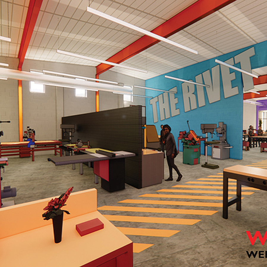The Rivet Makerspace Aims to Foster Collaboration and Teach New Skills