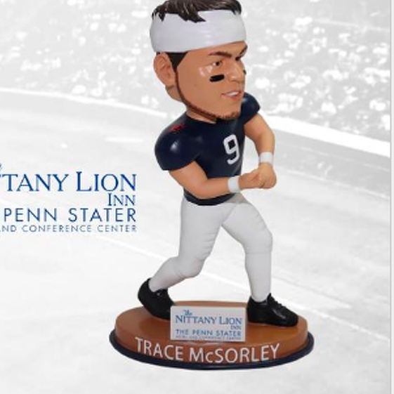Spikes Bobblehead Giveaways to Feature Trace McSorley, David Taylor and Blair Thomas