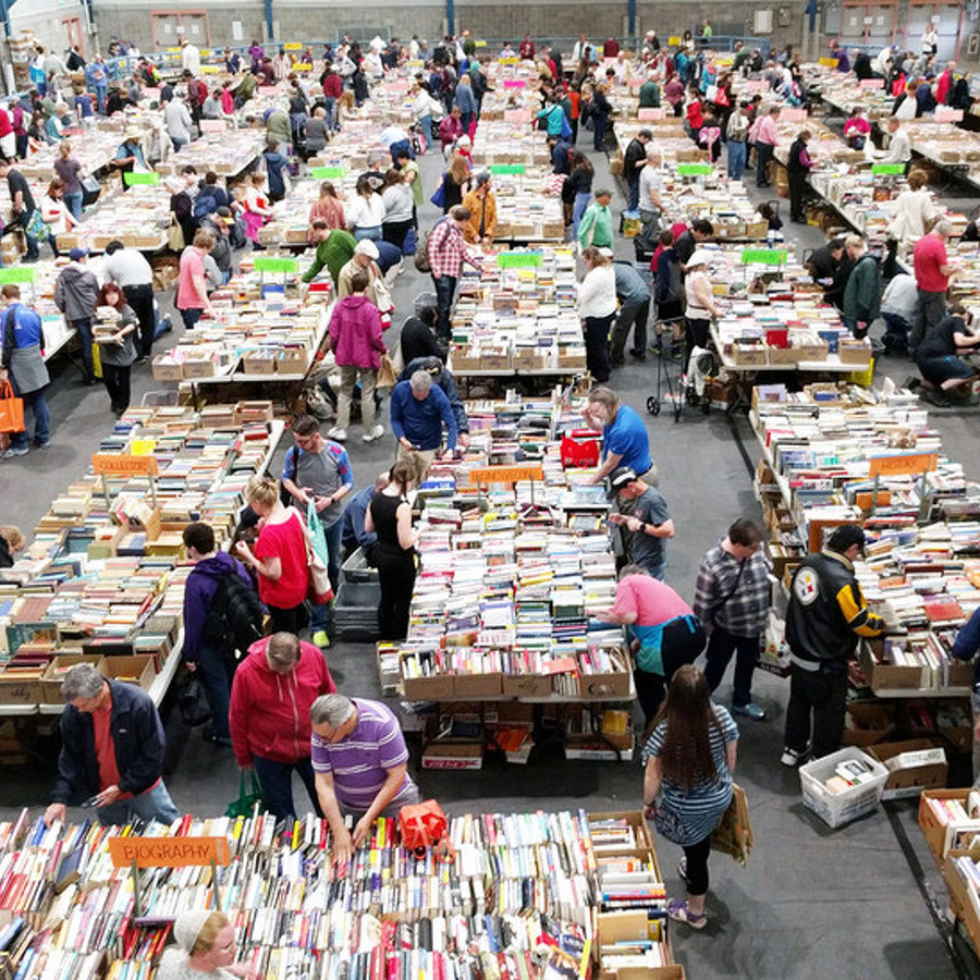 AAUW State College to Hold 58th Annual Used Book Sale