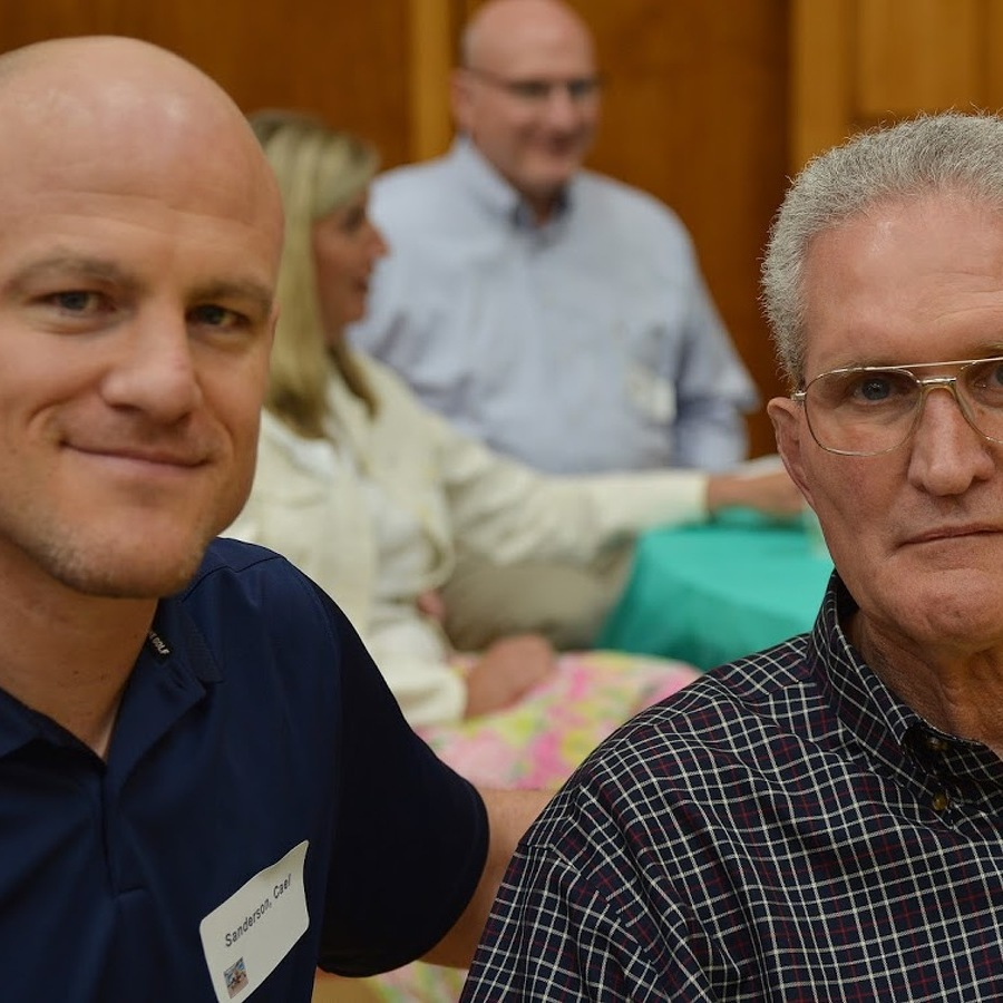 Wrestlers' Breakfast: Former Foes Enjoy Friendship and Welcome the New Guys