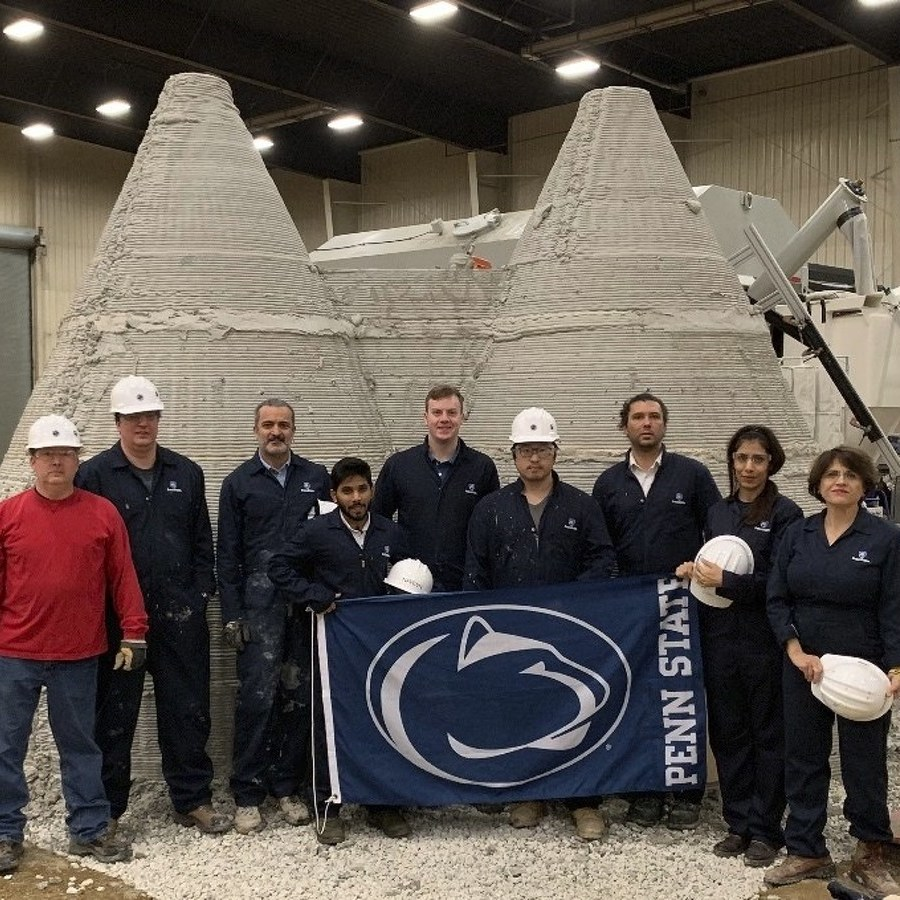 Penn State Team Takes Second in NASA Space Shelter Contest