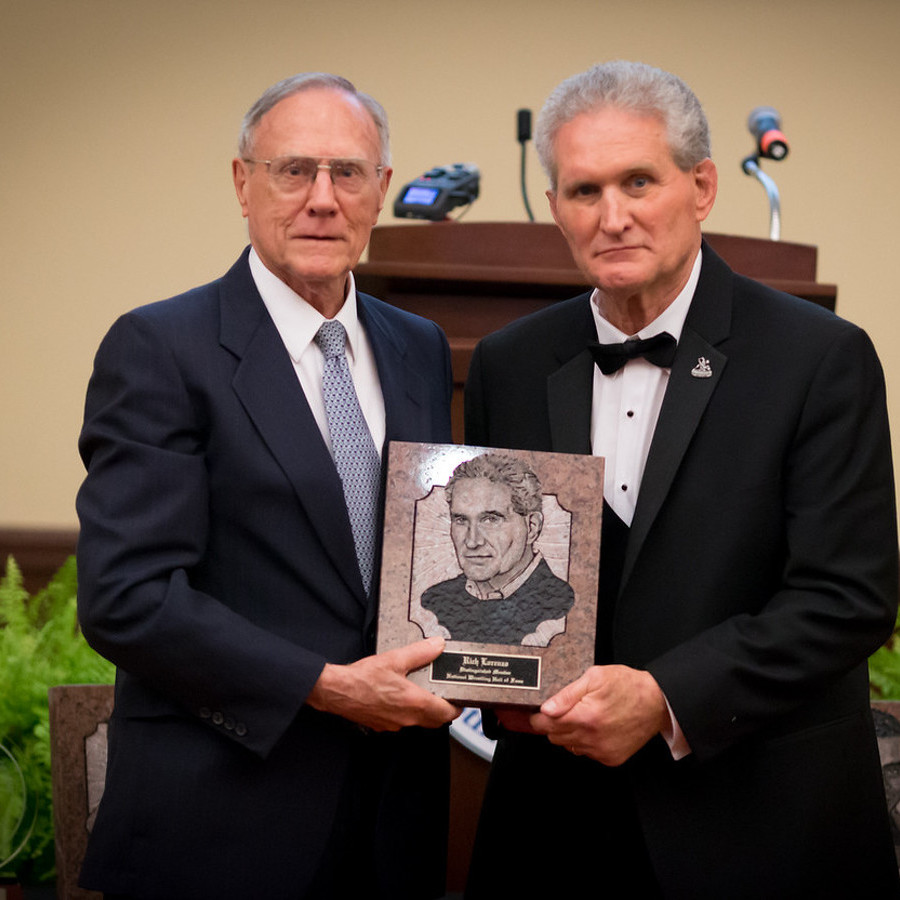 Former Penn State Coach Lorenzo Credits Others as He Enters Wrestling's Hall of Fame