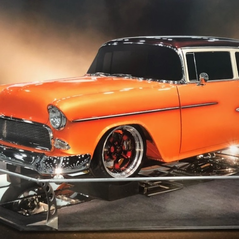 One-of-a-Kind Chevy to Be Displayed on the Diamond During Bellefonte Cruise