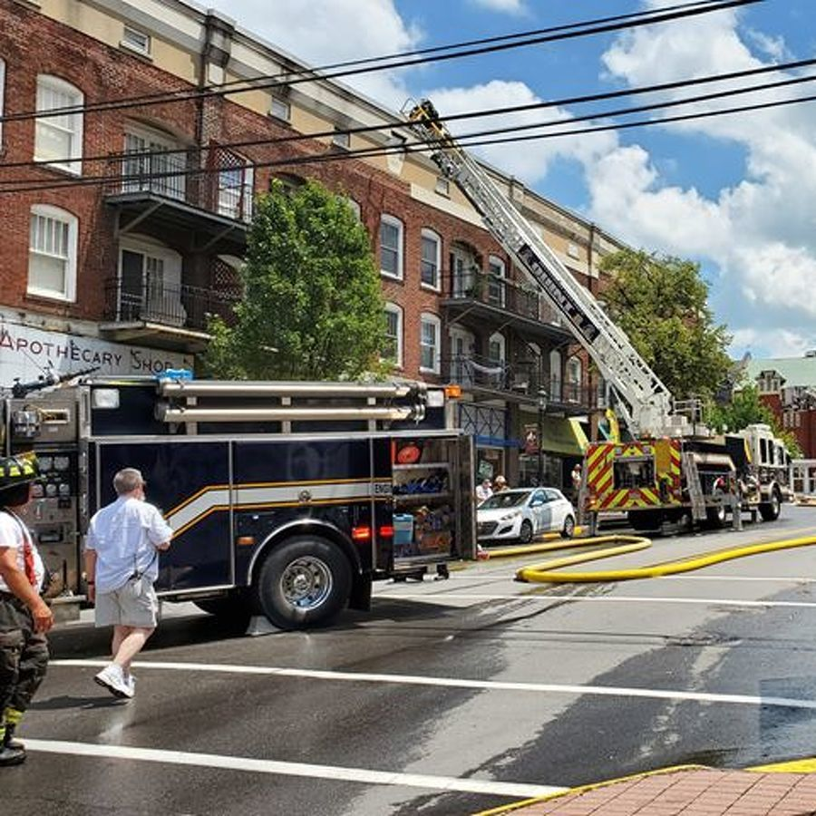 Multiple Crews Respond to Electrical Fire in Downtown Bellefonte