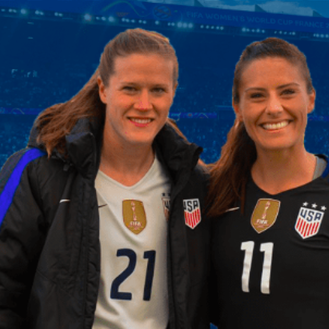Alyssa Naeher, Ali Krieger Crowned World Champions As USWNT Beats Netherlands 2-0 In Women's World Cup Final