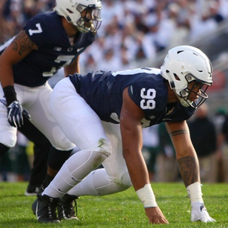 Penn State Football: Yetur Gross-Matos Big Ten Preseason Honoree