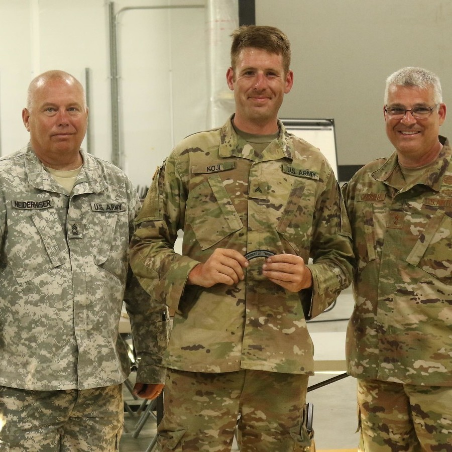 Two Centre County Residents Among Top Pennsylvania National Guard Marksmen