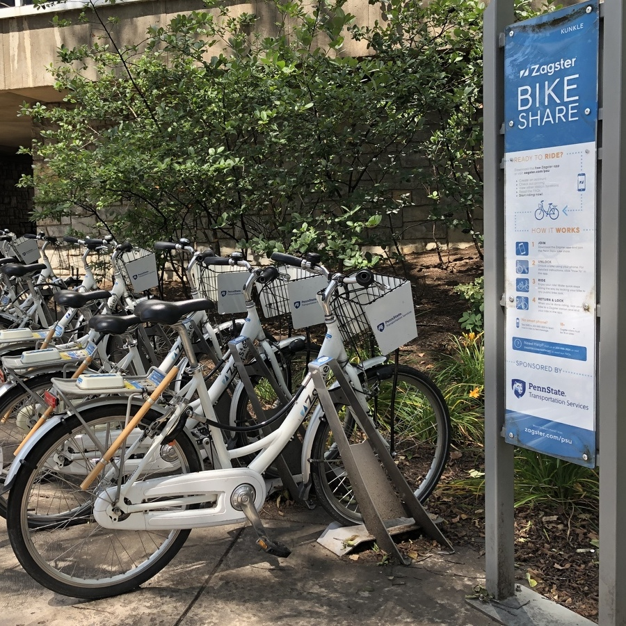 Bike-Share Program Being Tested in State College