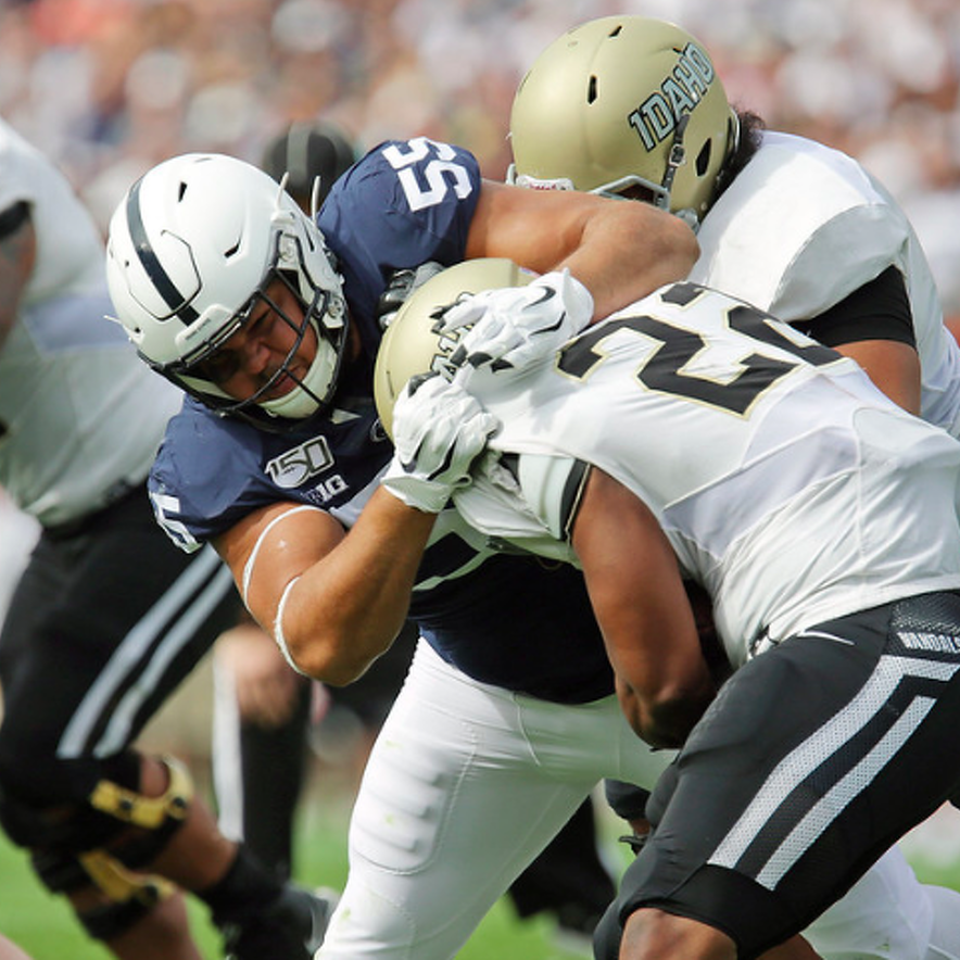 Penn State Football: Defensive Front Deep And Talented, And It Showed