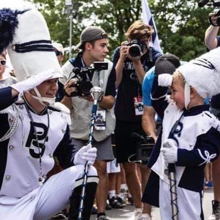Penn State Blue Band Finds Newest Drum Major in 3-Year-Old