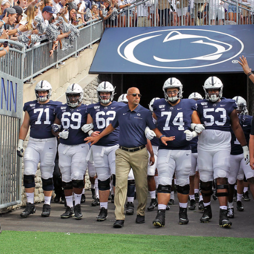 Penn State Football Holds Steady At No. 15 In Latest AP Poll