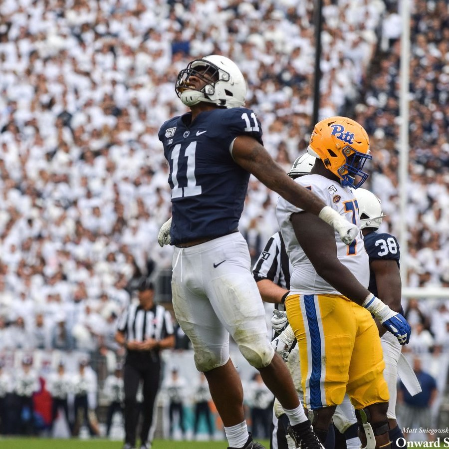Penn State Hangs On to Beat Pitt