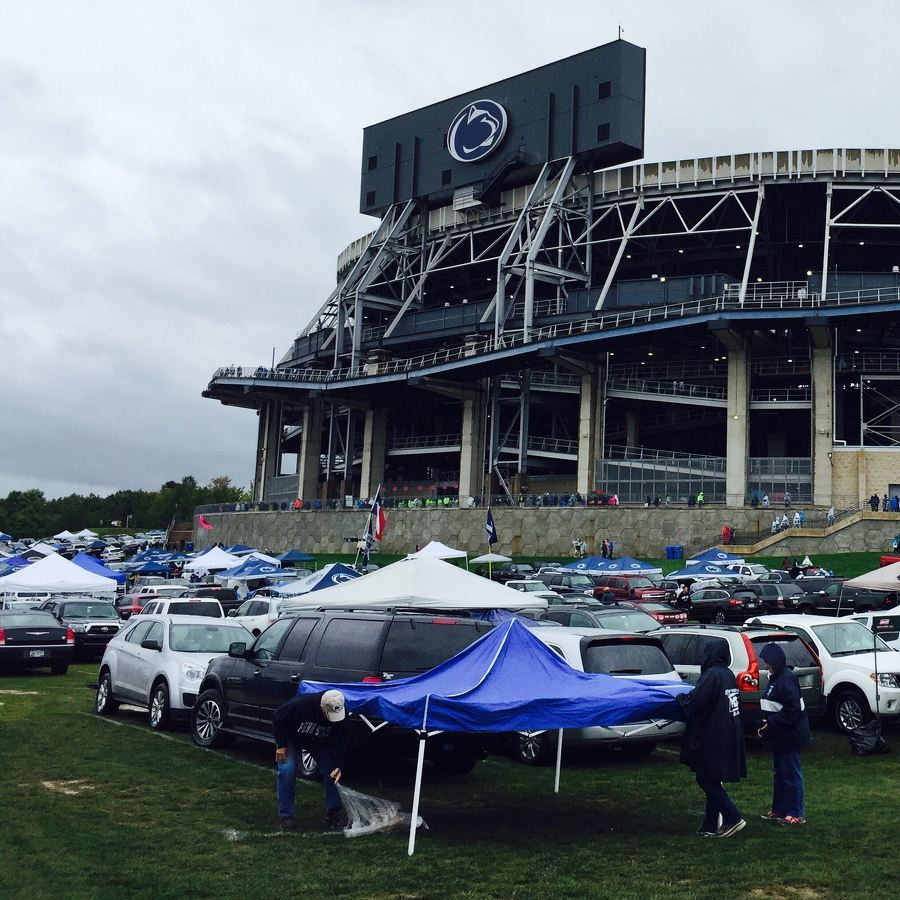 Beaver Stadium Parking Sold Out for Penn State Homecoming Game