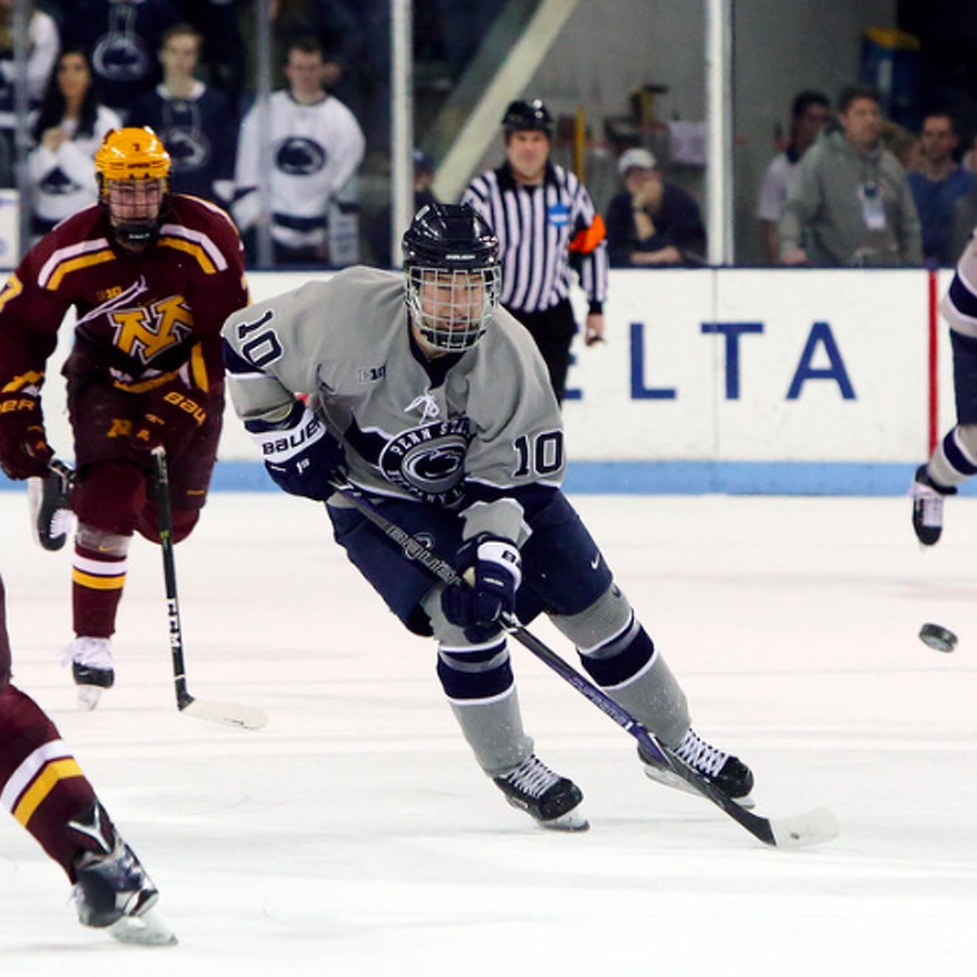 Penn State Hockey: Biro Brings Skill And Hard Work To Ice As Captain