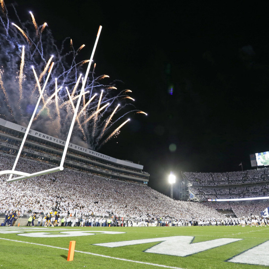 Who Needs an Amusement Park When You Have Beaver Stadium?